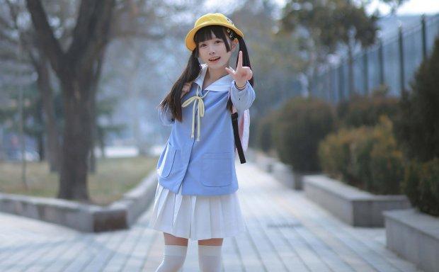 0090.爱爱子-小学生妹纸最可爱了